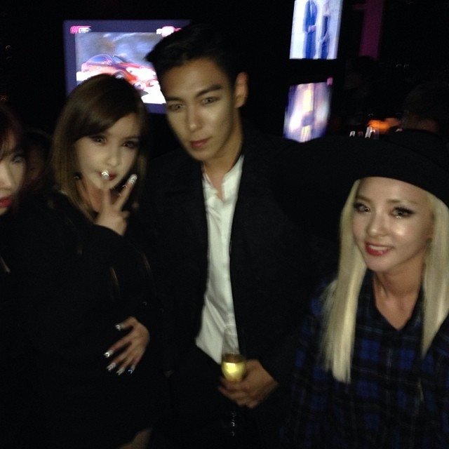 gd and cl dating 2014