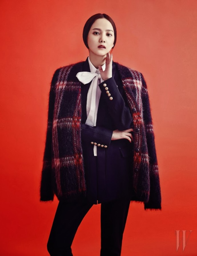 Yoon Seung Ah - W Magazine January Issue 2014