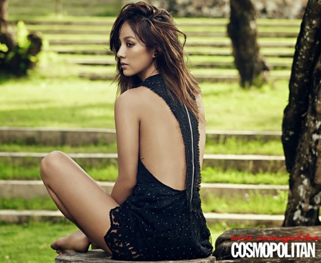 Hyori - Cosmopolitan Magazine March Issue 2014 (4)