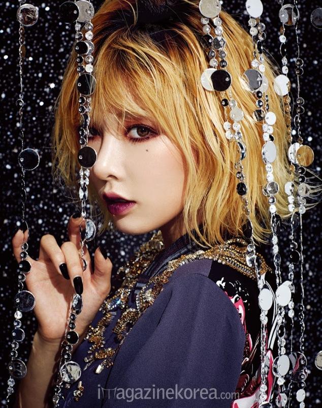 Hyuna 4minute Esquire January 2014 (2)