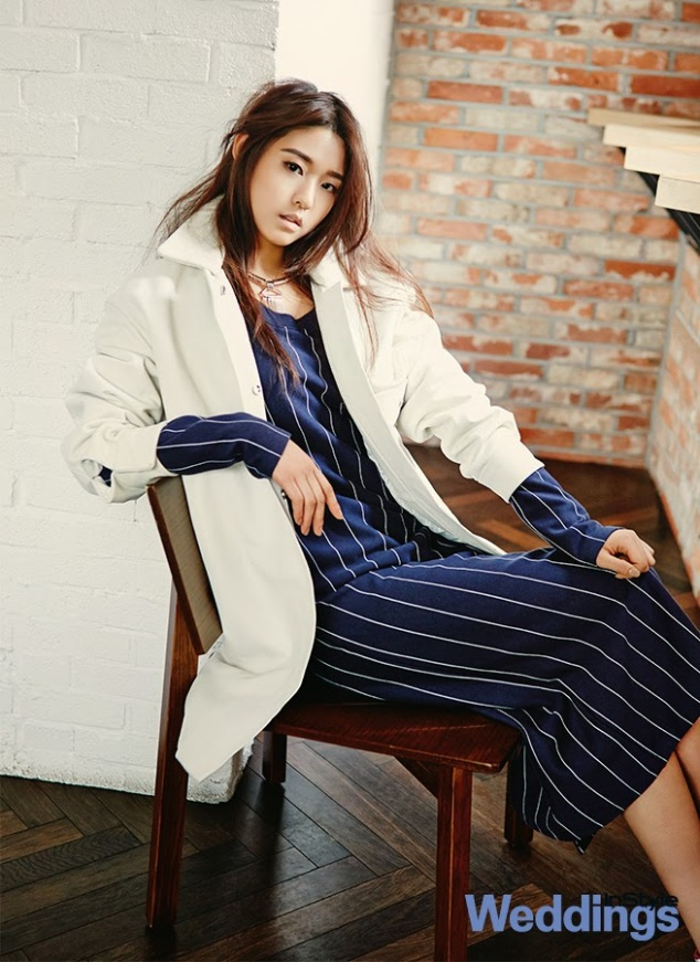 Seolhyun AOA Ace of Angels - InStyle Weddings Magazine February Issue 2014 (2)