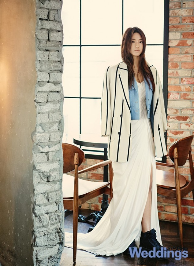Seolhyun AOA Ace of Angels - InStyle Weddings Magazine February Issue 2014 (4)