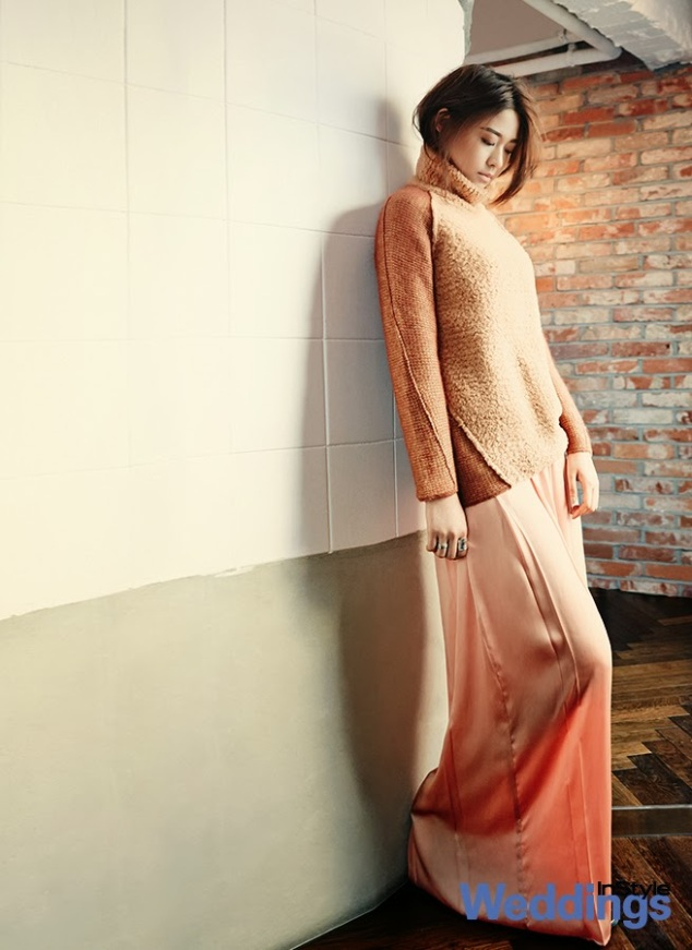 Seolhyun AOA Ace of Angels - InStyle Weddings Magazine February Issue 2014 (5)
