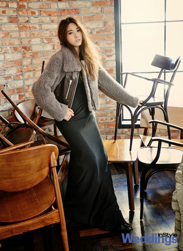 Seolhyun AOA Ace of Angels - InStyle Weddings Magazine February Issue 2014 (6)