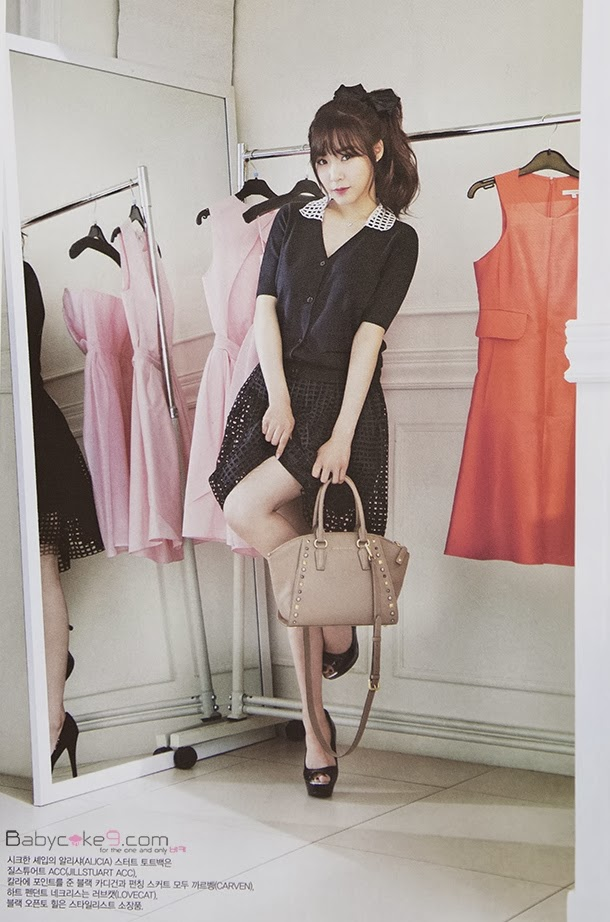 Tiffany Hwang SNSD Girls' Generation - Vogue Girl Magazine March Issue 2014 (6)