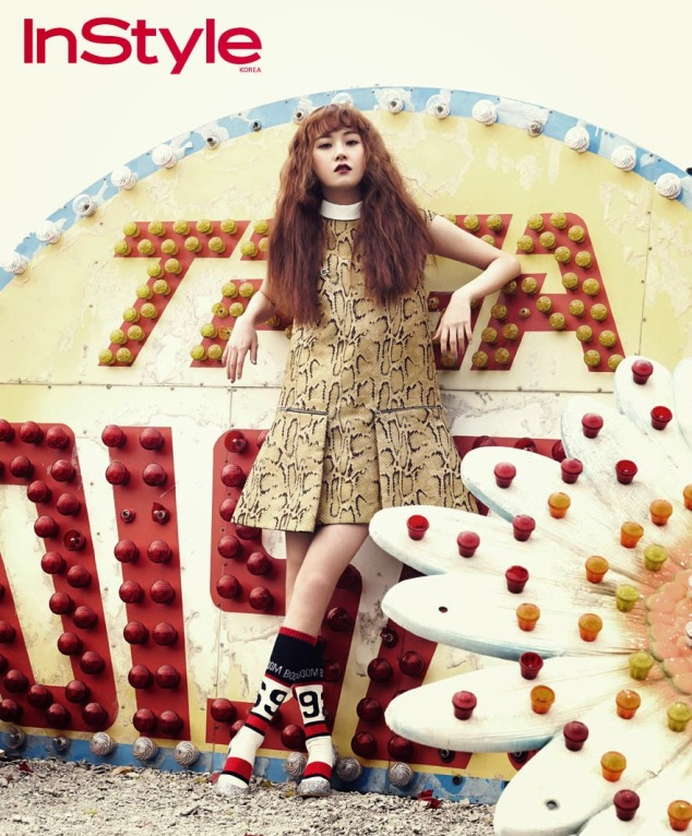 4Minute - InStyle Magazine April Issue 2014 (3)