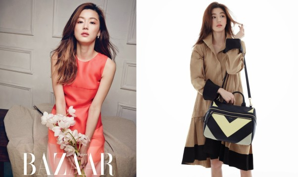 Jeon Ji Hyun - Harper's Banzaaz Magazine April Issue 2014_副本