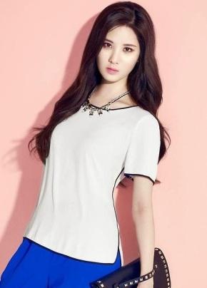 Seohyun SNSD Girls' Generation MIXXO Spring 2014 (3)