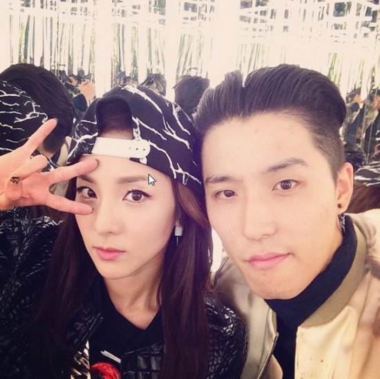 lee soo hyuk and dara dating
